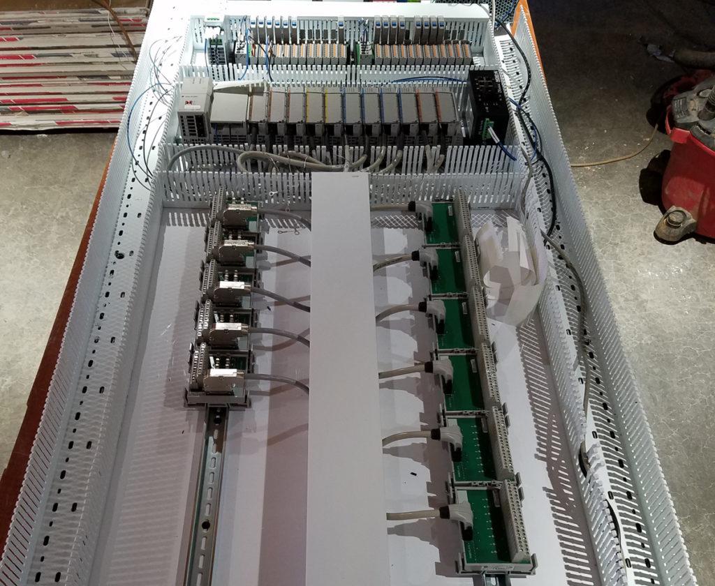 fabrication of the newport panel